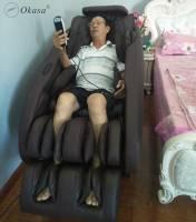 Ghế massage lưng hỗ trợ điều trị đau nhức lưng